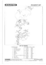 Buy Scalextrix No.378 Peugeot 307 Service Sheets by download Mauritron #206520