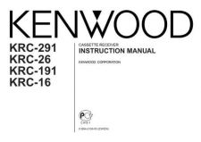 Buy Kenwood KRC-194A by download Mauritron #219227