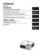 Buy Hitachi PJ-TX200E IT Manual by download Mauritron #225497