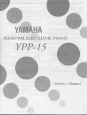 Buy Yamaha YPP15E Operating Guide by download Mauritron #205650