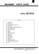 Buy Sharp ARFN3 PG GB Service Manual by download Mauritron #208277