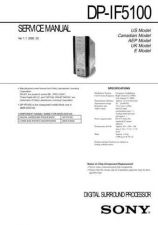 Buy Sony DPP-M55 Service Manual by download Mauritron #240117
