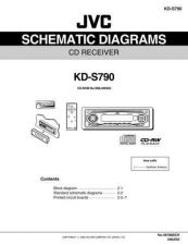 Buy JVC KD-S790 SCHEM SERVICE MANUAL by download Mauritron #220401