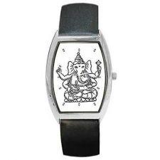 Buy Ganesha Hindu God Of Success Elephant Art Wrist Watch