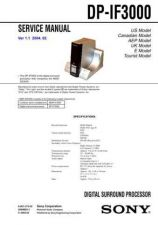 Buy Sony DPP-EX7 Service Manual by download Mauritron #240114