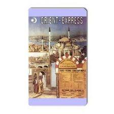 Buy Orient Express Retro Travel Tourism Art Vinyl Magnet