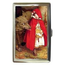 Buy Little Red Riding Hood Big Bad Wolf Cigarette Money Card Case