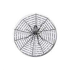 Buy Spiderweb Spider Web Set Of 4 Round Rubber Drink Coasters