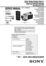 Buy Sony DCR-TRV38 Manual-1665 by download Mauritron #228552