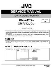 Buy JVC GM-V42S-BT Service Manual Schematic Circuit. by download Mauritron #270508