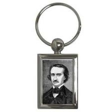 Buy Edgar Allan Poe Poet Author Portrait Key Chain Keychain