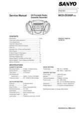 Buy Fisher. Service Manual For MCD-ZX300F by download Mauritron #217347