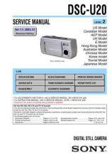 Buy Sony DSC-U30.... Service Manual by download Mauritron #240349