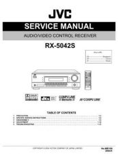 Buy JVC RX-5042S Service Manual Schematic Circuit. by download Mauritron #272230