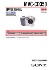 Buy Sony MVC-CD350-3 Service Manual. by download Mauritron #242986