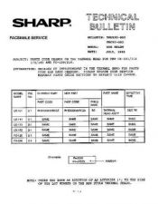 Buy SHARP TBC92002 TECHNICAL BULLETIN by download #104547
