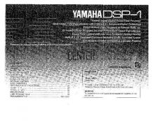 Buy Yamaha DSP-1 Operating Guide by download Mauritron #247566