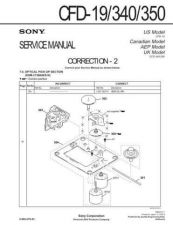 Buy Sony CFD-20-30 Service Manual by download Mauritron #238693