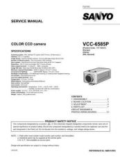 Buy Fisher. Service Manual For VCC-6585P by download Mauritron #217507