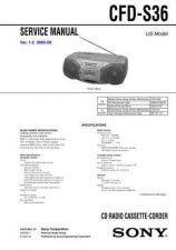 Buy Sony CFD-S28 Manual-1662 by download Mauritron #228342
