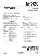 Buy Sony MHC-C9EX Service Manual. by download Mauritron #242835