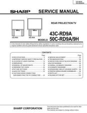 Buy Sharp 43CRD9AService Manual by download Mauritron #230830