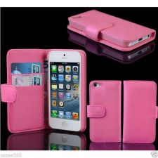 Buy NEW WALLET STYLE HORIZONTAL FLIP LEATHER CASE COVER FOR IPHONE 5 WITH HOLDER