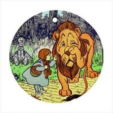 Buy The Wizard Of Oz Cowardly Lion Dorothy Art Ceramic Ornament