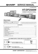 Buy Sharp HTDP2500W Service Manual by download Mauritron #208962