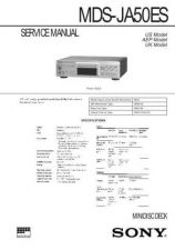 Buy SONY MDS-JE530 Technical by download #105043
