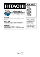 Buy Hitachi CL2842AN English Service Manual by download Mauritron #230629