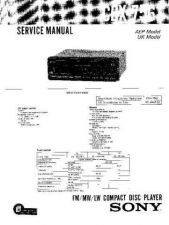 Buy Sony CDX-7562 Technical Information by download Mauritron #235469
