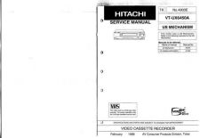 Buy Hitachi VTUX6450A Service Manual by download Mauritron #265671