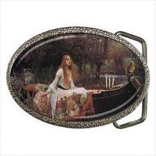 Buy The Lady of Shalott Fine Art Unisex Belt Buckle