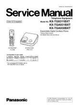 Buy Panasonic kxtsc11-sm Service Manual by download Mauritron #267516