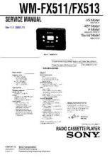 Buy Sony WM-FX511-513 Service Manual. by download Mauritron #245829