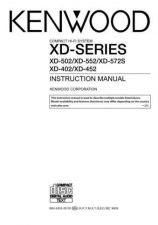 Buy Kenwood XD-550 Operating Guide by download Mauritron #219913