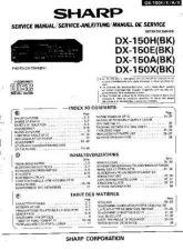 Buy Sharp DX150H-E-A-X -DE-FR Service Manual by download Mauritron #208788
