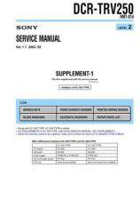 Buy Sony DCR-TRV75-TRV75E-TRV80-TRV80E Service Manual by download Mauritron #239904