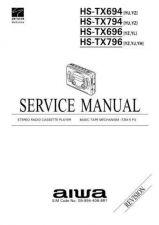 Buy AIWA 09-994-406-8R1 Service Informat by download #107562