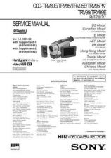 Buy Sony CCD-TRV66ETRV77E Service Manual by download Mauritron #237182