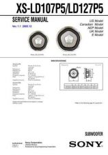 Buy Sony XS-LD107P5LD127P5 Service Manual. by download Mauritron #246409