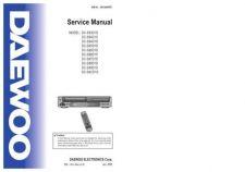 Buy Daewoo. DIVX COMBO(PAL3[1].0)SM. Manual by download Mauritron #212770
