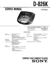 Buy Sony D-700-170 Service Manual by download Mauritron #239445