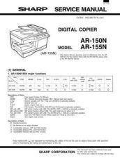 Buy Sharp SHARP AR-150N by download Mauritron #210633