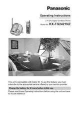 Buy Panasonic KXTG2501 Operating Instruction Book by download Mauritron #236108