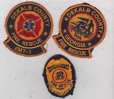 Buy dekalb county georgia fire rescue uniform patch man