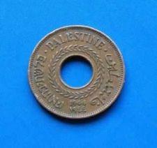 Buy Israel Palestine 5 Mils 1944 Coin XF