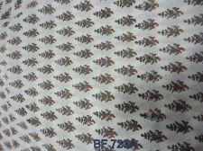 Buy 10yards Indian Hand Made hand block print cotton fabric sanganeri print fabric
