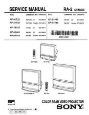 Buy Sony KP-43T75 Service Manual by download Mauritron #242074